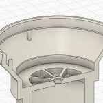 Digital model of valve seat for respirator mask