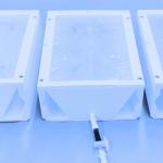 Lumbar epidural and spinal injection phantomCT. FDM print. Echogenic ballistic gel