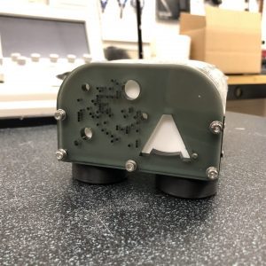 Ultrasound-guided vascular access phantom CAD. FDM printing. Gel casting. Lasercut case.