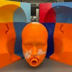 Complex Mold for casting NIOSH standard headform for respirator testing